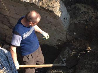 Возобновили раскопки на святой горе